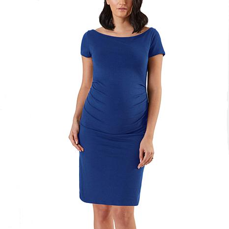 Stowaway Collection Maternity Over/Under Maternity & Postpartum Skirt