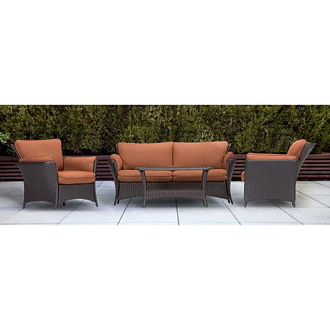 ... Strathmere Allure 4 Piece Outdoor Furniture Collection ...