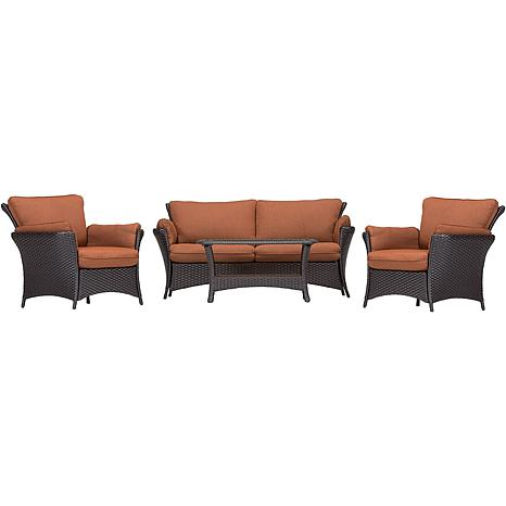 Strathmere Allure 4 Piece Outdoor Furniture Collection