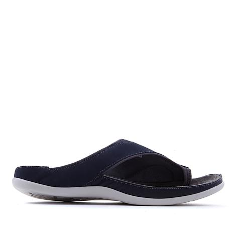Strive Colorado Leather Toe-Loop Orthotic Sandal