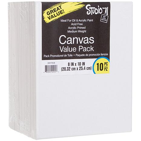"""Studio 71 Stretched Canvas 10-pack  - 8"""" x 10"""""""