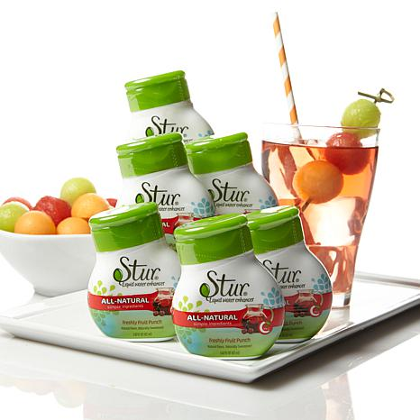 Stur All-Natural Water Enhancer 6-pack - Fruit Punch
