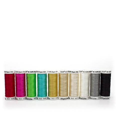 Sulky 40wt Rayon Thread 10-pack - Radiant