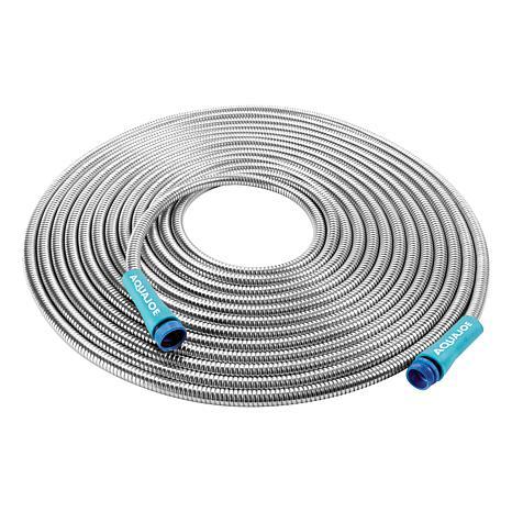 Sun Joe® 50' 0.5-inch Heavy-Duty Spiral Stainless Steel Garden Hose