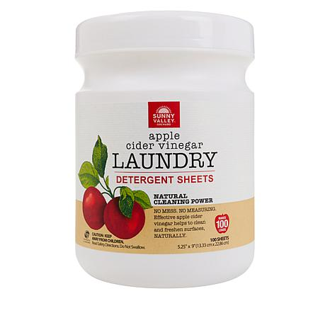 Sunny Valley Orchard 100-count Natural Laundry Detergent Sheets