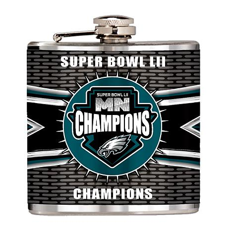 Super Bowl LII Champions 6 oz. Hip Flask - Philadelphia Eagles