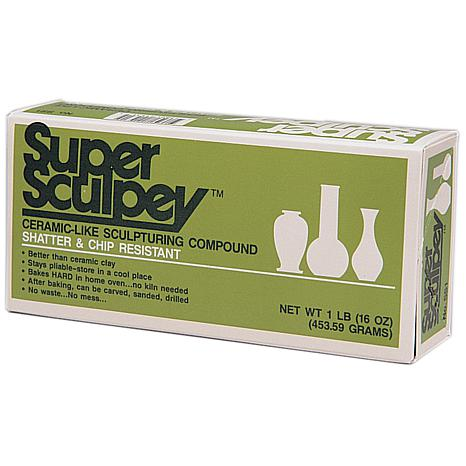 Super Sculpey Polymer Clay - 1 lb. in Beige
