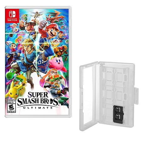 """""""Super Smash Bros. Ultimate"""" Game for Nintendo Switch with Game Caddy"""