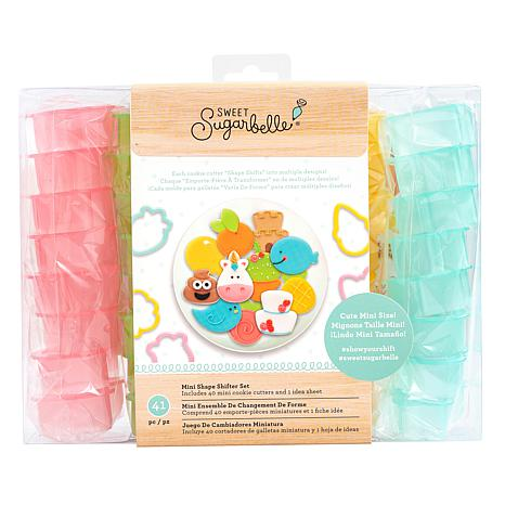 Sweet Sugarbelle 41-piece Mini Shape Shifters Cookie Cutters