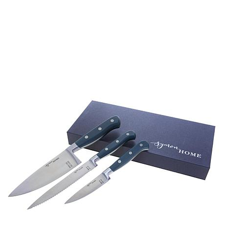 Symon Home 3-piece Stainless Steel Knife Set
