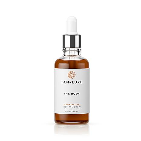 Tan-Luxe The Body Self Tan Serum - Light/Medium