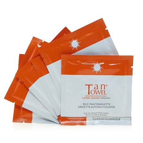TanTowel® Full-Body Classic Towelettes - 6-pack
