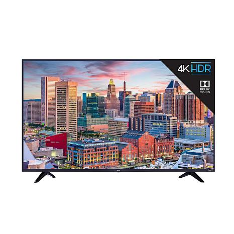 """TCL 43"""" 5 Series 4K UHD Roku Smart TV w/HDMI Cable & 2-Year Warranty"""