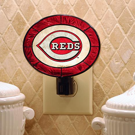 Team Glass Nightlight - Cincinnati Reds