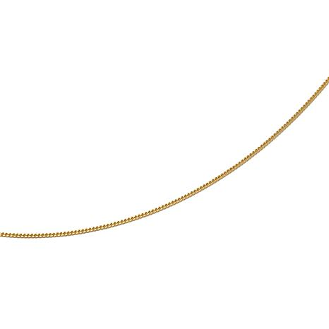 "Technibond® Adjustable Curb-Link 24"" Necklace"