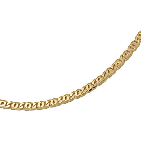 "Technibond® Bird-Eye Chain 16"" Necklace"