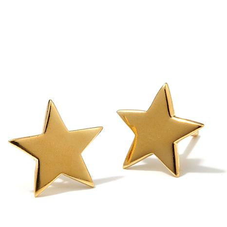 Technibond® Star-Design Stud Earrings