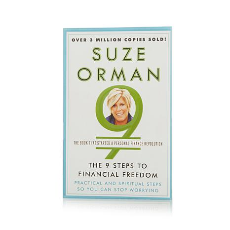 """""""The 9 Steps to Financial Freedom"""" Book by Suze Orman"""