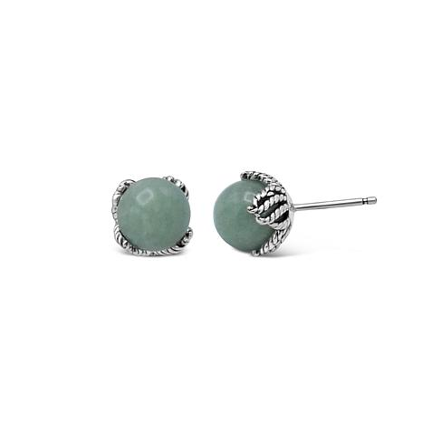 Tiffany Kay Studio Sterling Silver Aventurine Stud Earrings