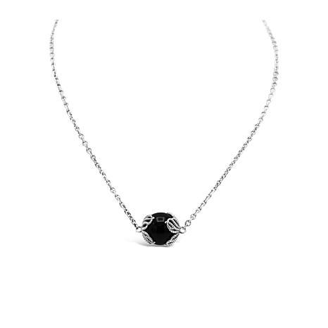 Tiffany Kay Studio Sterling Silver Black Onyx Necklace