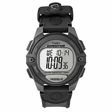 Timex Men's Expedition Digital Chrono Nylon Strap Watch