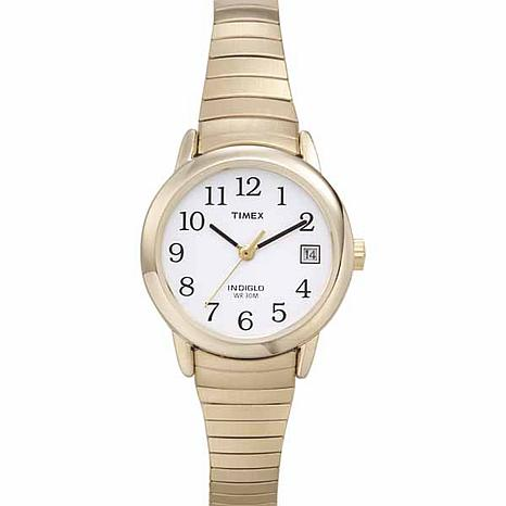 Timex Women Goldtone Steel Easy Reader Expansion Watch