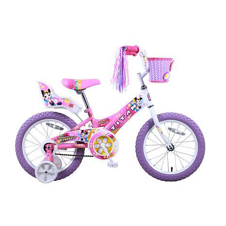 "Titan Princess Girl's 16"" BMX Bike w/Training Wheels"