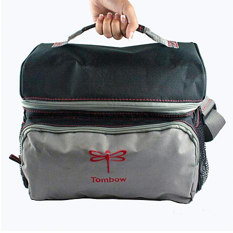 Tombow Storage Tote   Black And Red   8653497 | HSN