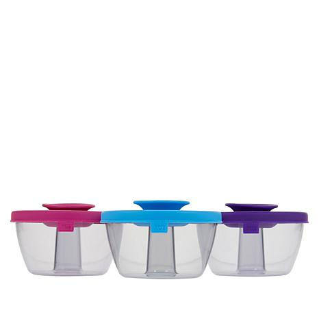 Tomorrow\'s Kitchen PopSome 3-pack Snack Container Set