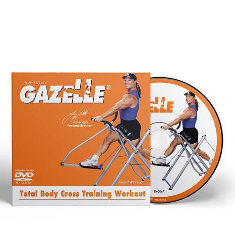 Tony Little Gazelle Cross Trainer Workout DVD