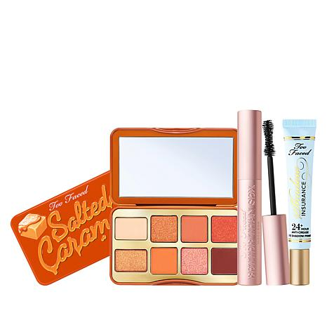 Too Faced 3-piece Salted Caramel Eye Set