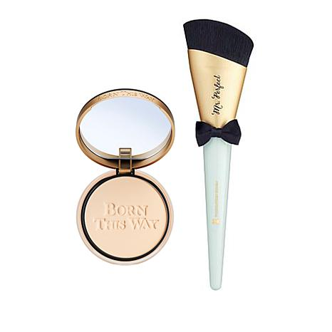 Too Faced Cloud Born This Way Foundation Powder with Mr. Perfect Brush