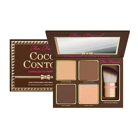 Too Faced Cocoa Contour Palette with Buki Brush