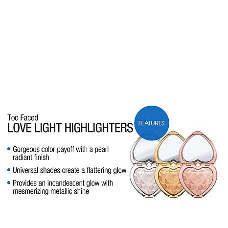 Too Faced Love Light Prismatic Highlighter You Light Up