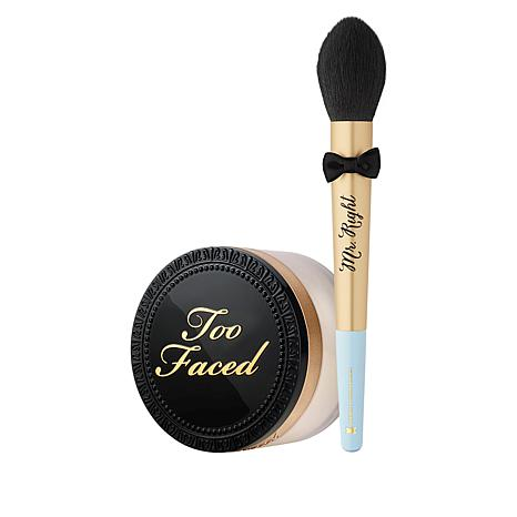 Too Faced Perfect Set Up Loose Powder and Brush Set