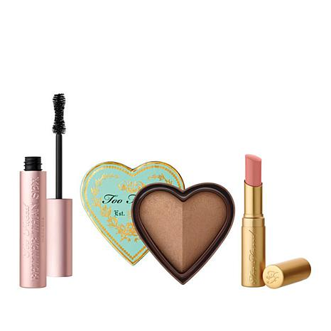 Too Faced Sexy, Bronzed & Kissable 3-piece Set