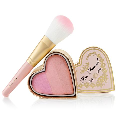 Too Faced Sweethearts Perfect Blush and Brush Duo