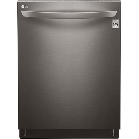Top Control Dishwasher with TurboMotion - Black Stainless Steel