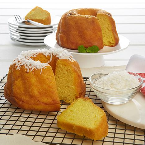 Tortuga 16 oz. Coconut Rum Cake and 16 oz. Golden Rum Cake | HSN