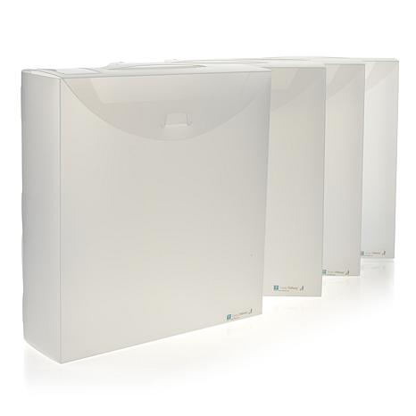 Totally-Tiffany Fab Files Album Storage Boxes 4-pack