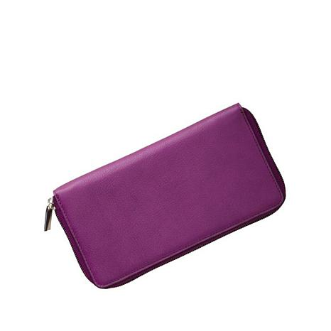 TravelSmith RFID-Blocking Leather Clutch Wallet