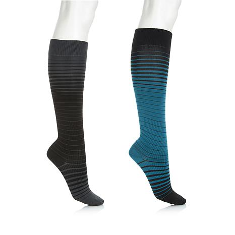 TravelSox® Womens CoolMax Compression Sock 2-pack