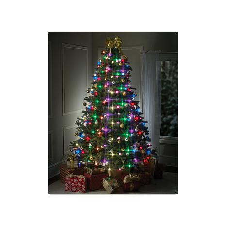 tree dazzler deluxe christmas tree lights 8205253 hsn - Christmas Tree With Lights And Decorations