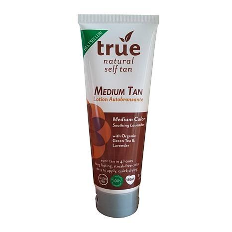 True Naturals Tropical Tan Organic Self Tanner Tan