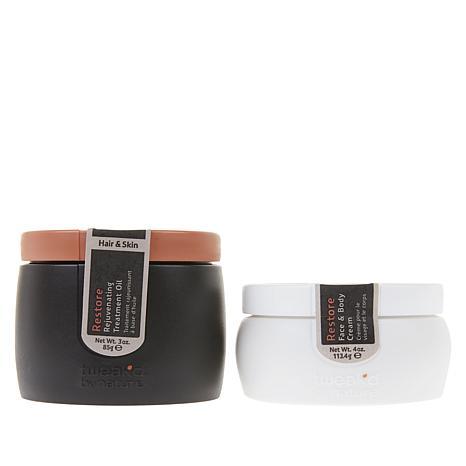 Tweak-d Dhatelo Restore Hair, Face and Body 2-piece Set