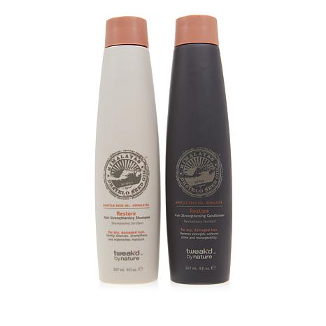 Tweak-d Dhatelo Restore Shampoo and Conditioner Duo