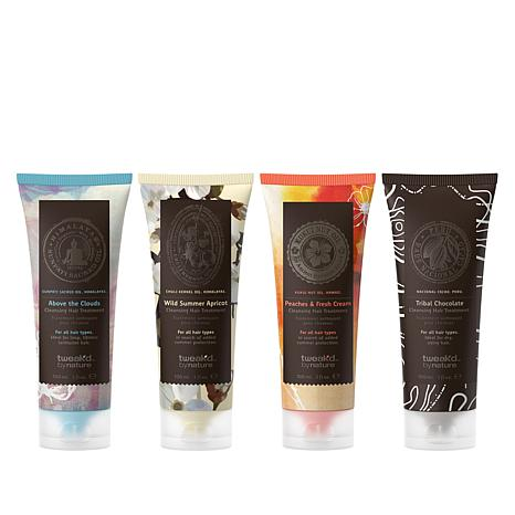 Tweak-d Rare Treasures Mini Cleansing Hair Treatments