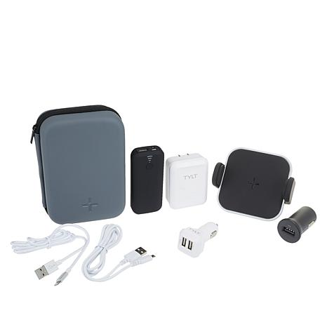 TYLT Vehicle Vehicle Travel Kit w/Wireless Vent Charger with Case