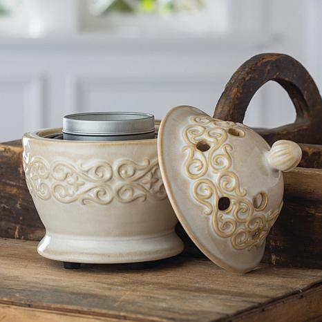 UnMatched Candle Breeze Fan Wax Warmer - Ivory