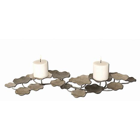 Uttermost Lying Lotus Candleholder